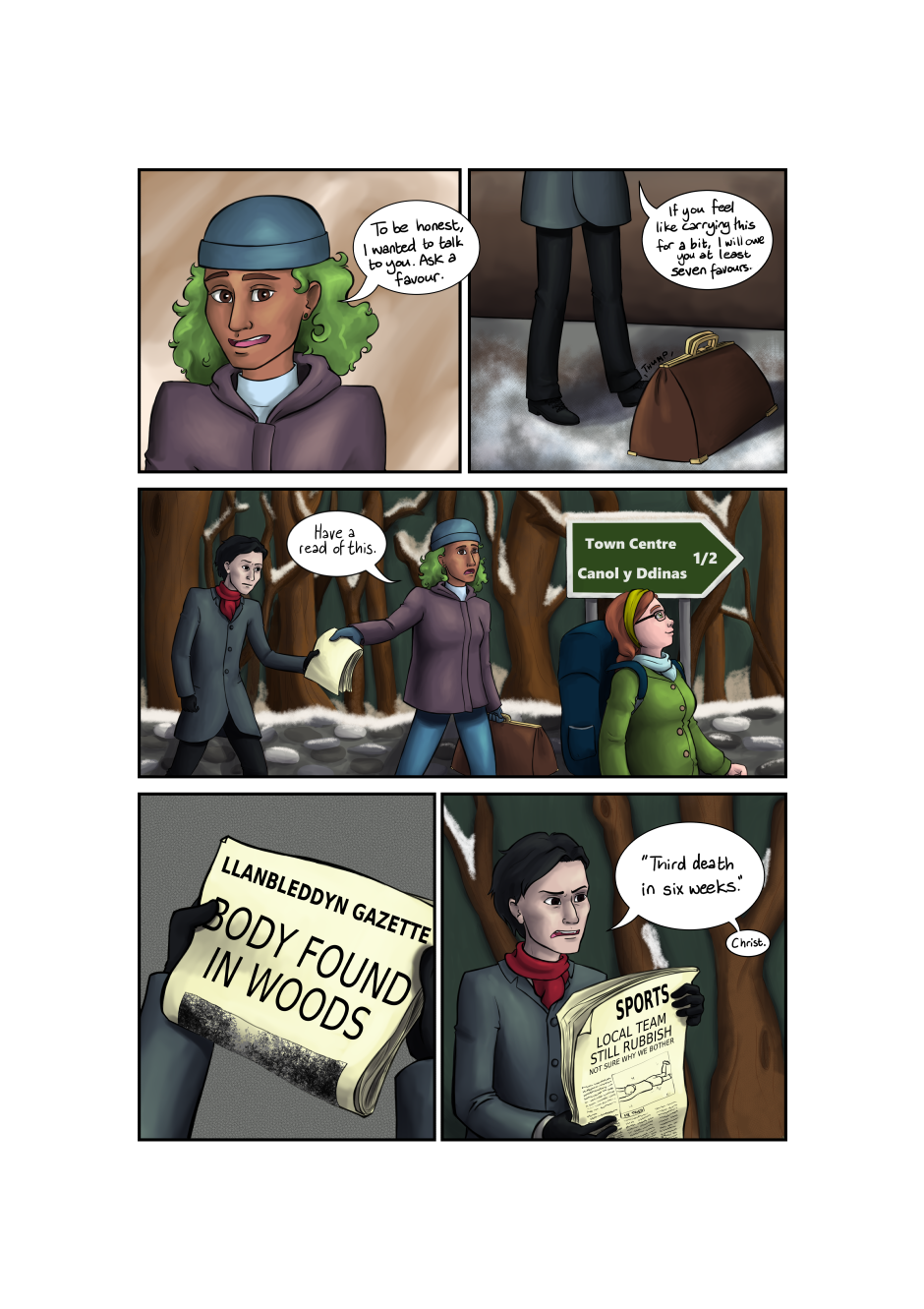 Blood and Flowers - Page 4