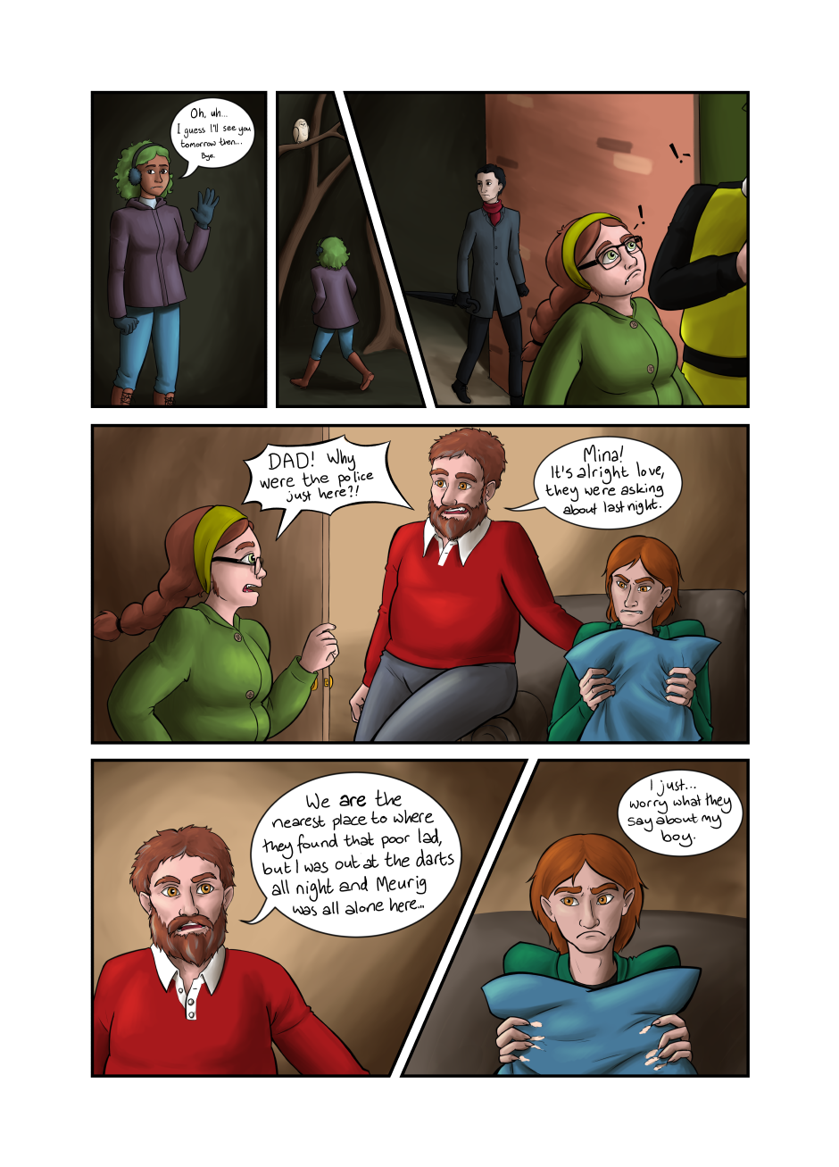 Blood and Flowers - Page 18