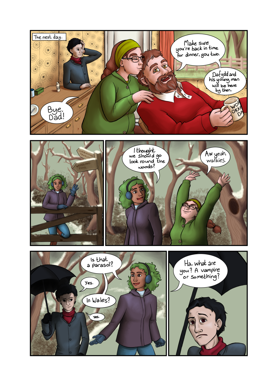 Blood and Flowers - Page 8
