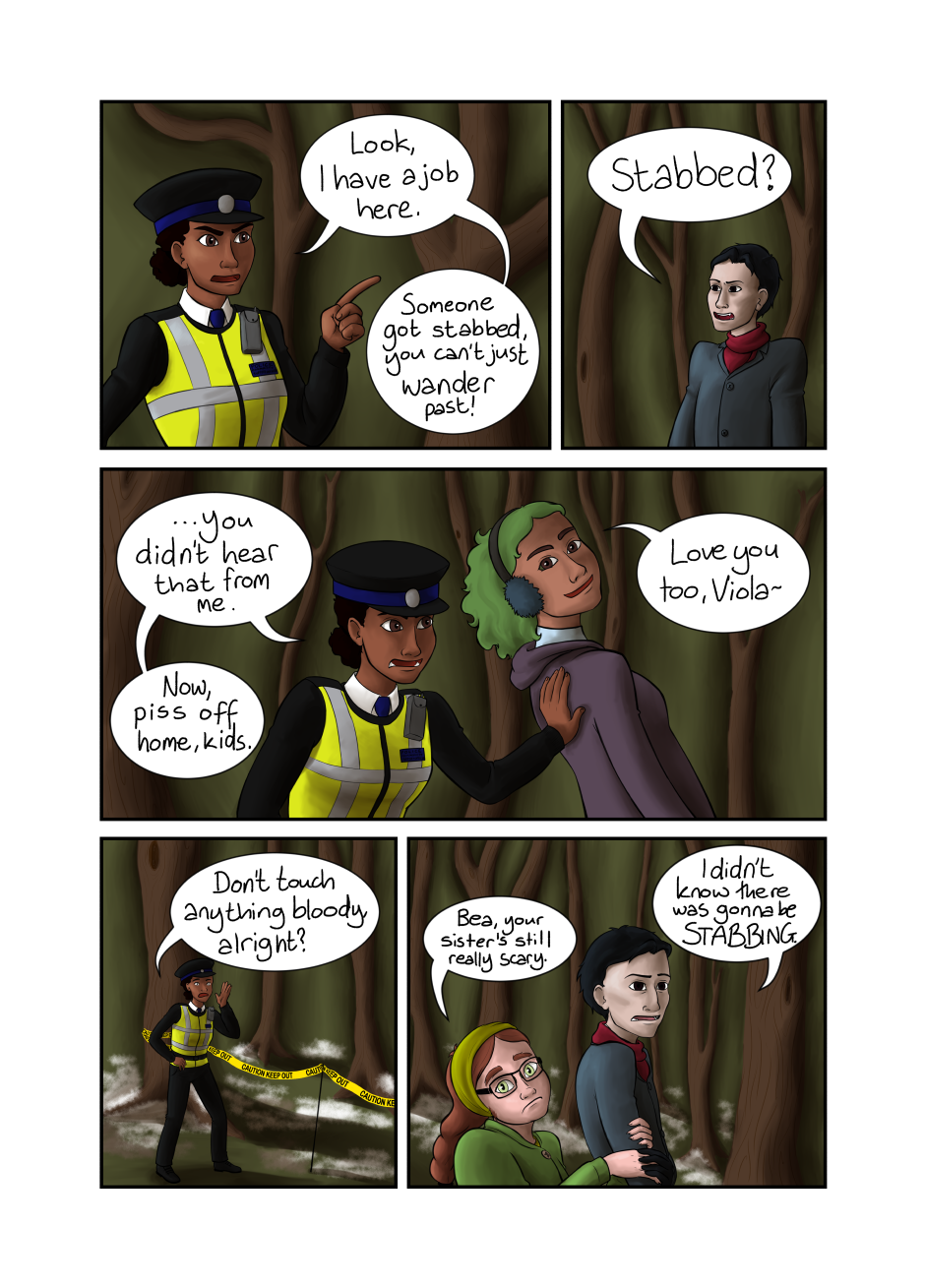 Blood and Flowers - Page 15