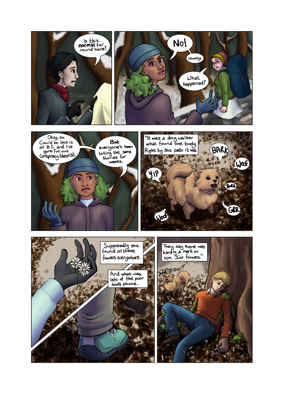 Blood and Flowers - Page 5