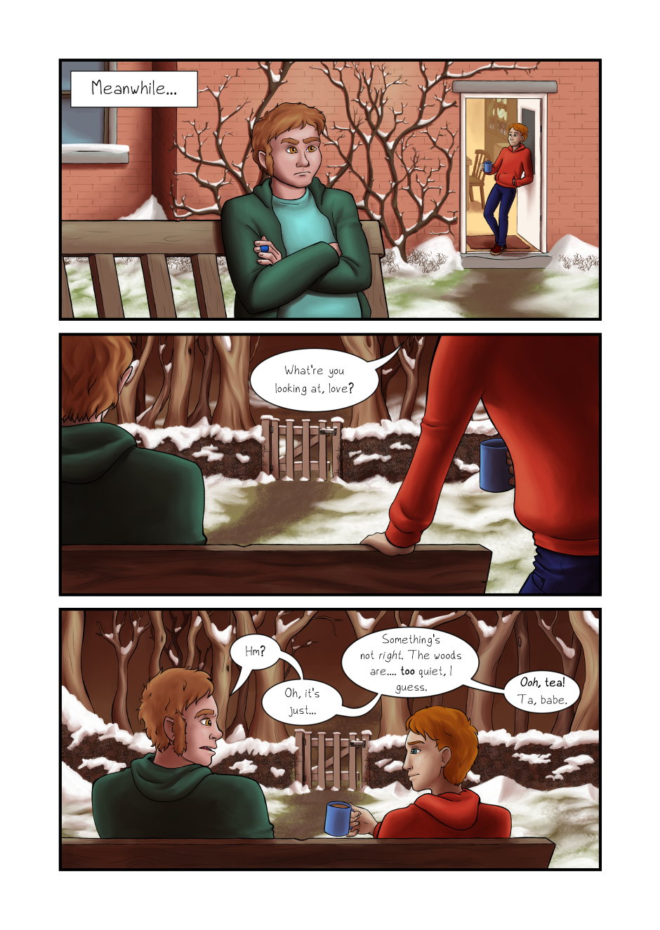 Blood and Flowers - Page 28